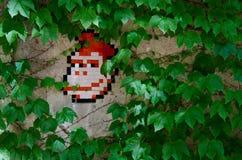 Mosaico del kong dell'asino Fotografie Stock