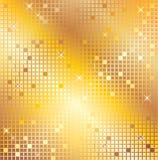 Mosaico del oro foto de archivo libre de regalías