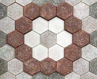 Mosaico del pavimento Immagini Stock