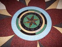 Mosaico del pavimento del museo Immagine Stock