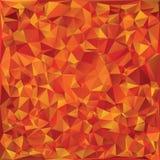 Mosaico del vidrio del otoño Foto de archivo libre de regalías
