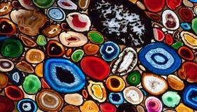 Mosaico dell'agata Fotografia Stock Libera da Diritti