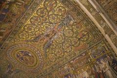Mosaico della chiesa Immagine Stock