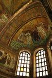 Mosaico della chiesa della basilica della st Vitale Immagini Stock Libere da Diritti
