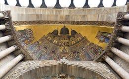 Mosaico della chiesa su San Marco fotografia stock