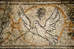 Mosaico della colomba di pace Immagini Stock