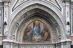Mosaico della Mary di Virgin Fotografia Stock