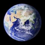 Mosaico della terra Fotografia Stock Libera da Diritti