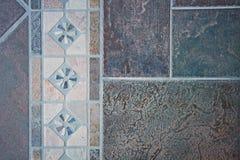 Mosaico delle piastrelle per pavimento Fotografie Stock Libere da Diritti
