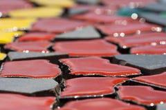 Mosaico (detalhe) fotografia de stock