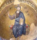Mosaico di Cristo Pantocrator Immagini Stock Libere da Diritti