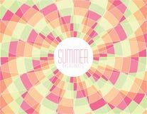 Mosaico di estate immagini stock libere da diritti