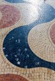 Mosaico di Explanada de Espana della La di Alicante delle mattonelle di marmo Fotografie Stock Libere da Diritti