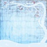 Mosaico di inverno Fotografia Stock Libera da Diritti