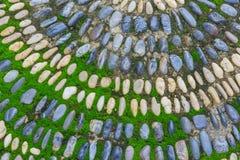Mosaico di pietra Immagine Stock