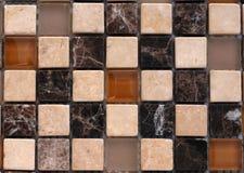 Mosaico di pietra della miscela immagini stock libere da diritti