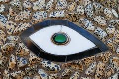 Mosaico di pietra e di ceramica Immagini Stock Libere da Diritti
