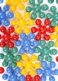 Mosaico di plastica Fotografie Stock