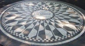 Mosaico di Strawberry Fields, NYC Immagine Stock Libera da Diritti
