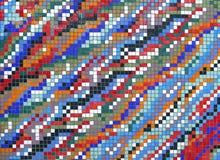Mosaico di struttura delle mattonelle Fotografia Stock