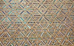 Mosaico di una parete sulla cattedrale di Saragozza Fotografia Stock Libera da Diritti