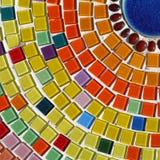 Mosaico di vetro Fotografia Stock