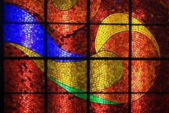 Mosaico di vetro Fotografie Stock Libere da Diritti