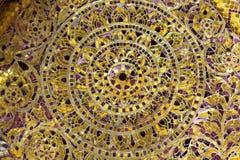 Mosaico di vetro asiatico immagini stock libere da diritti