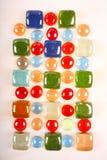 Mosaico di vetro del branello e delle mattonelle fotografia stock libera da diritti