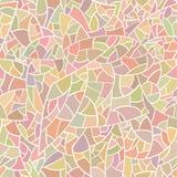 Mosaico di vetro leggero variopinto. Illustrazione di Stock
