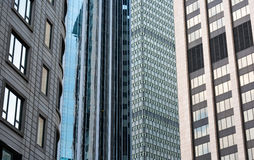 Mosaico do arranha-céus de Boston Imagens de Stock Royalty Free