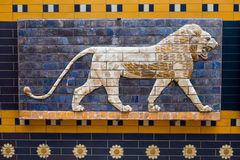 Mosaico do Babylonian da porta de Ishtar Fotos de Stock Royalty Free