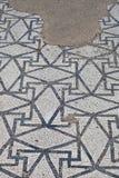 Mosaico do grego clássico em Empuries Imagem de Stock