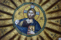 Mosaico do Jesus Cristo foto de stock royalty free