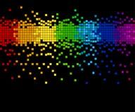 Mosaico do pixel - vetor Fotografia de Stock Royalty Free