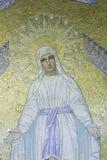 Mosaico do Virgin Mary foto de stock
