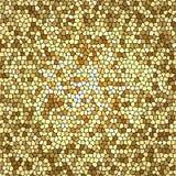 Mosaico dorato Fotografia Stock