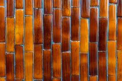 Mosaico dorato di lusso Fotografia Stock