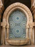 Mosaico e fontana fotografia stock