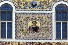 Mosaico elaborado - Veneza - Itália imagens de stock royalty free