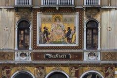 Mosaico elaborado - Veneza - Itália imagem de stock