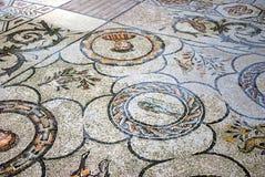 Mosaico en basílica. Fotos de archivo