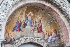 Mosaico en la basílica de St Mark Fotos de archivo