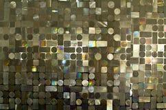 Mosaico en las paredes Fotografía de archivo libre de regalías