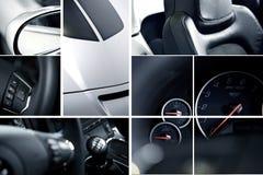 Mosaico esotico delle automobili Fotografie Stock Libere da Diritti