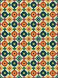 Mosaico español stock de ilustración