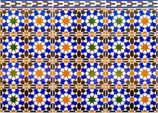 Mosaico espanhol típico Fotos de Stock