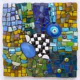 Mosaico feito a mão imagem de stock