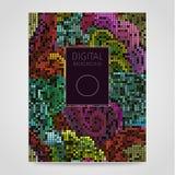 Mosaico floral Imagens de Stock Royalty Free