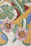 Mosaico floreale Fotografia Stock